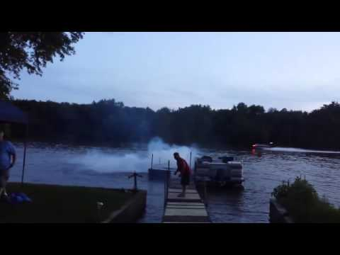 Fireworks Fail Results In Guy Blowing Up His Dock