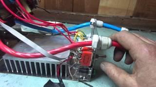 Не качественный ремонт инвертора  ПНП7-12-1600 от А- Электроника