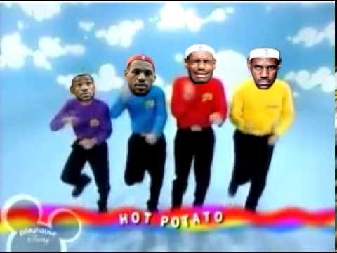 LeBron vs. The Wiggles - Hot Potato