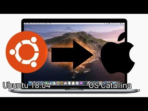 Cara Merubah Tampilan Ubuntu Menjadi Mac Os How To Make Ubuntu 18 04 Looks Like Mac Os Catalina Youtube