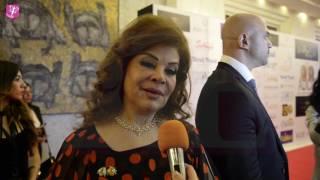 خاص بالفيديو.. صفاء أبو السعود تكشف السر وراء حضورها ديفلية 'بهيج حسين'