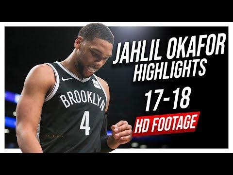Nets C Jahlil Okafor 20172018 Season Highlights ᴴᴰ