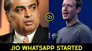 Jio Whatsapp Services Started | ஜியோ வாட்ஸ்அப் ஆரம்பம் | தமிழ் | Posituber