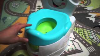 Fisher Price - Learn to Flush Potty baby toilet 피셔프라이스 변기 런투 플러쉬 포티