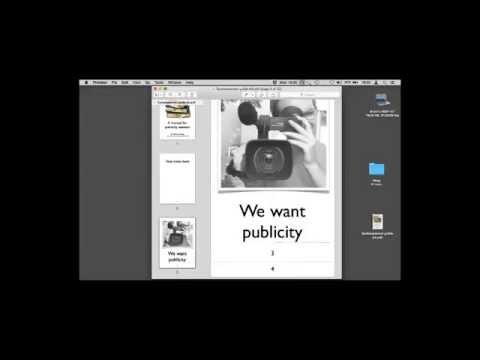 We want Publicity -  Part One by Erich Viedge