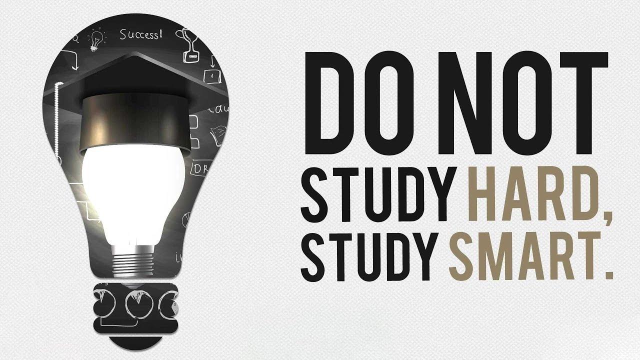 Study Hard AND Study Smart! - Motivation Video - YouTube