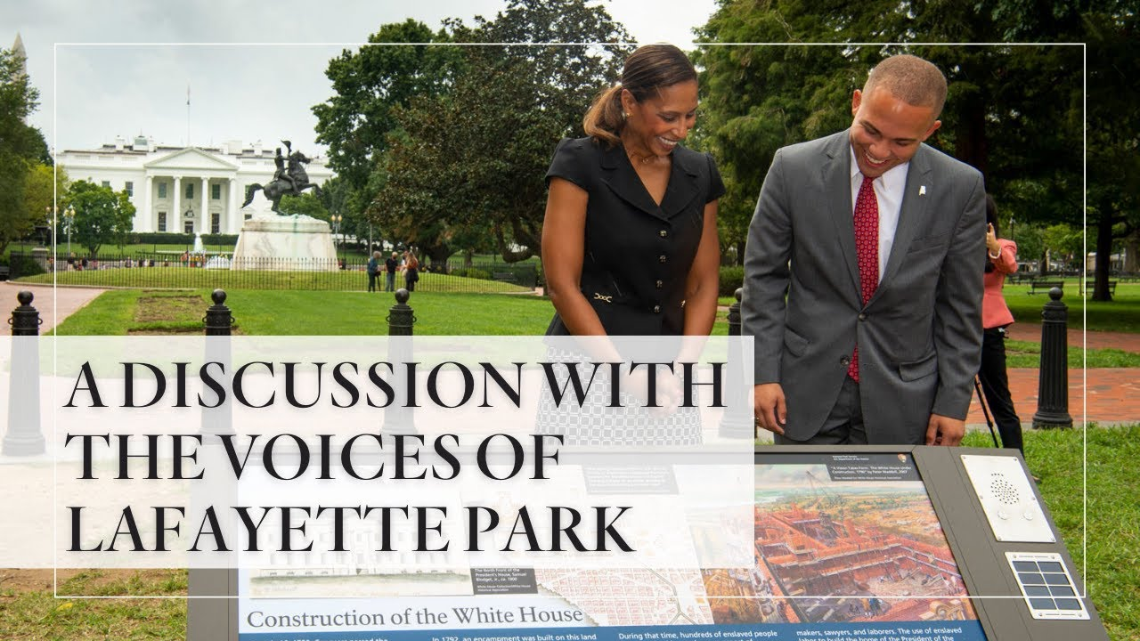 1600 Sessions Podcast: A Discussion with the Voices of Lafayette Park