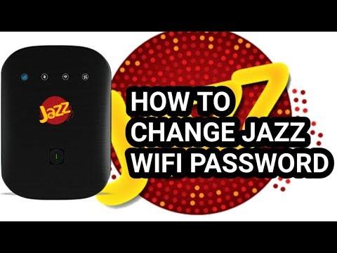 How To Change Jazz 4G Wifi Device Password