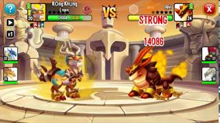✔️ Son Goku Heroic Dragon City HNT chơi game Nông Trại Rồng HNT Channel New 353