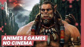 TEREMOS BONS FILMES DE GAMES E ANIME? ft Gabriel Gaspar (Acabou de Acabar)
