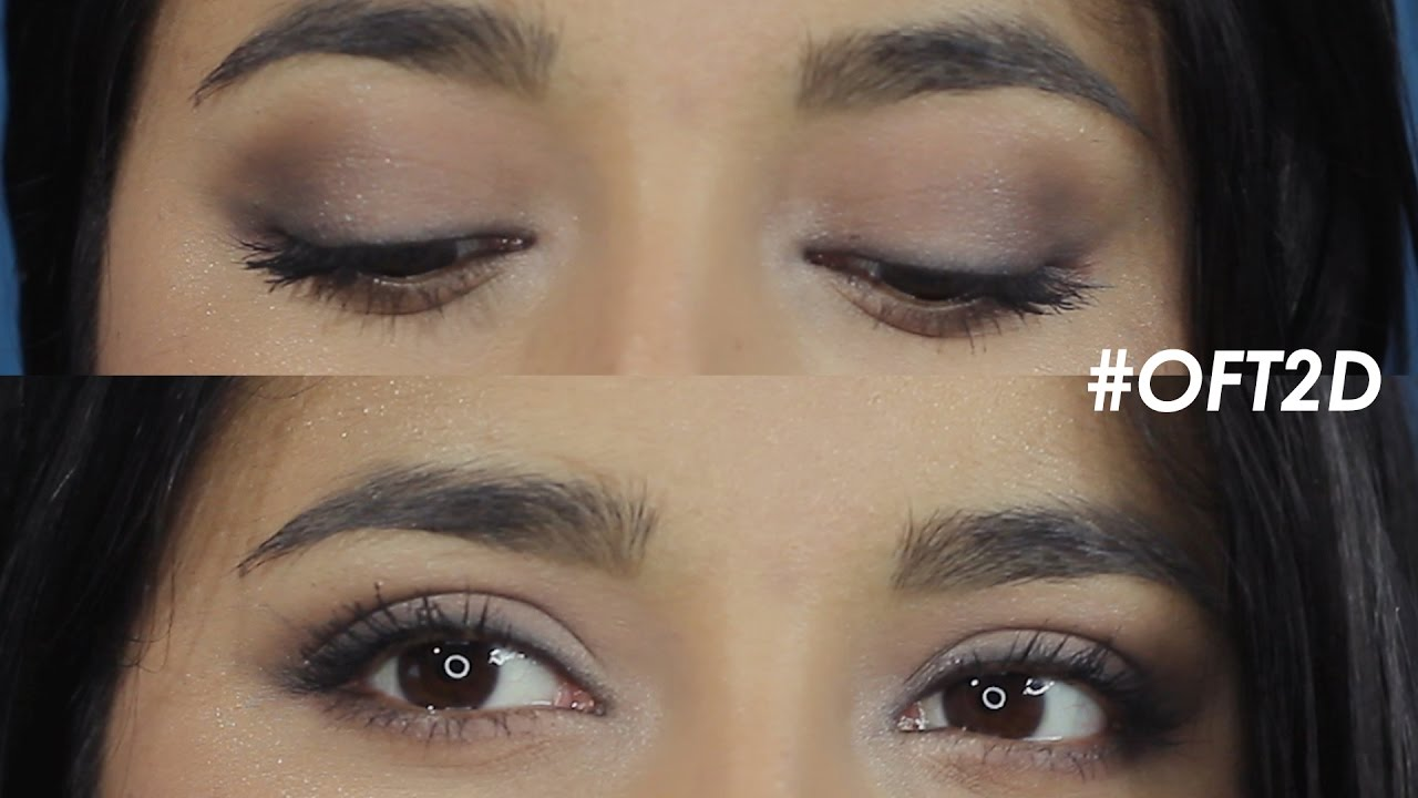 How To Apply Eye Shadow, In Depth Tutorial Basic For Beginners In Hindi  #oft2d