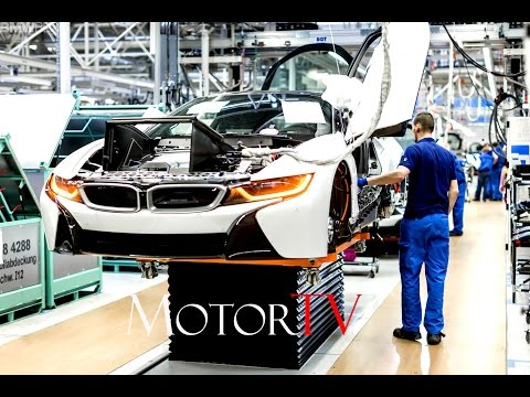 CAR FACTORY : BMW i8 PRODUCTION l ASSEMBLY LINE