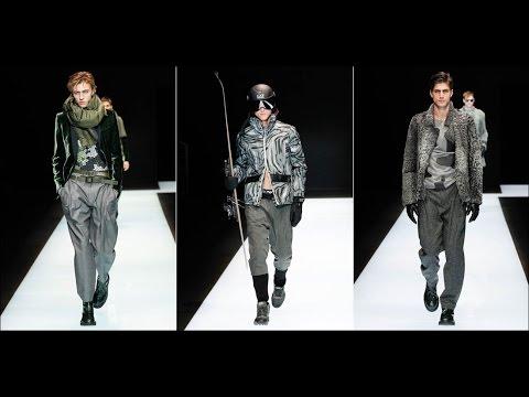 Emporio Armani - Fall/Winter 2016-2017 at Milano Moda Uomo