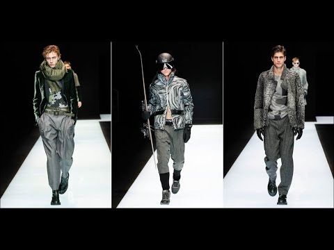 Emporio Armani - Fall Winter 2016-2017 at Milano Moda Uomo - YouTube 661a056f3b31