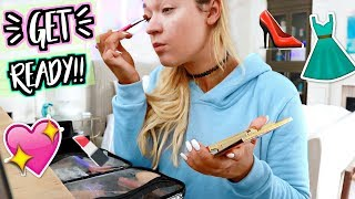 GETTING READY IN MY NEW ROOM!!! AlishaMarieVlogs
