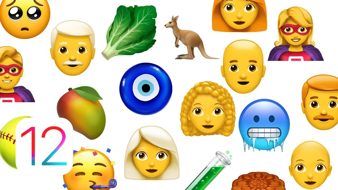 Official iOS 12 Emoji Announced: Redhead, Kangaroo, Superhero & More!