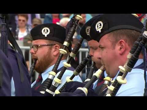 Field Marshal Montgomery  | Medley @ 2017 World Pipe Band Championships