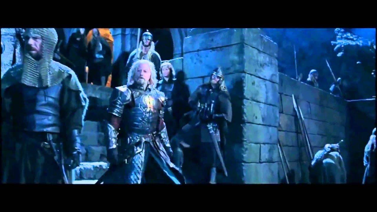 Lord Of The Rings The Elves Arrive At Helm S Deep