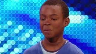 "Download Malaki Paul ""9 Year old"" ""Listen"" Uncut [HD] ""Britains got talent""  BGT 2012 ""auditions 31.04.12"" Mp3"