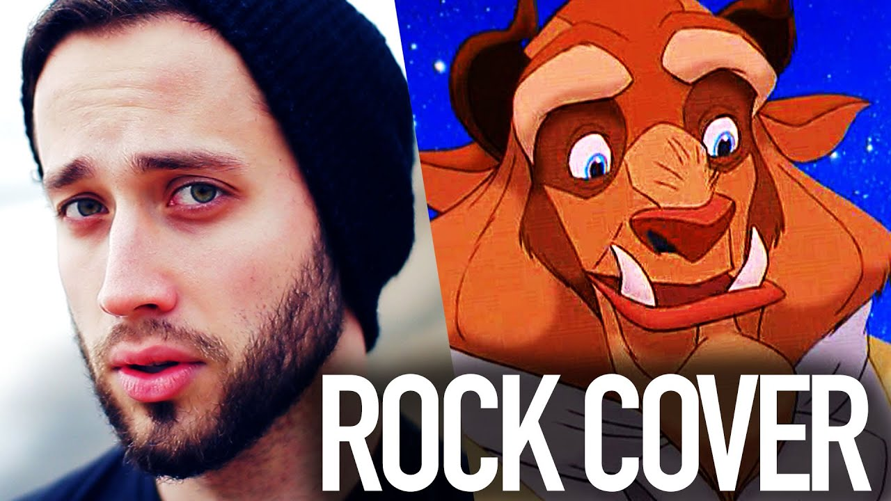 beauty-and-the-beast-disney-jonathan-young-rock-cover-jonathan-young