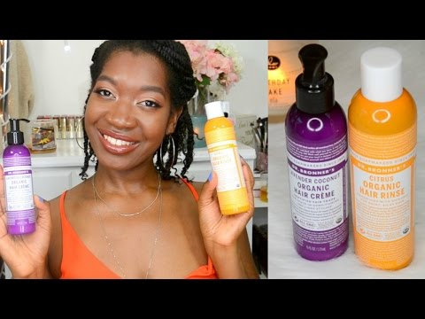 Dr Bronner's Hair Product Review - Moisturize Dry Natural Hair, How To Clarify Natural Hair, 4c Hair