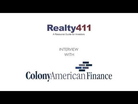 Finance News with Colony American Finance - Get the 411 on t
