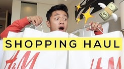 Huge H&M Men's Clothing Haul | 2018