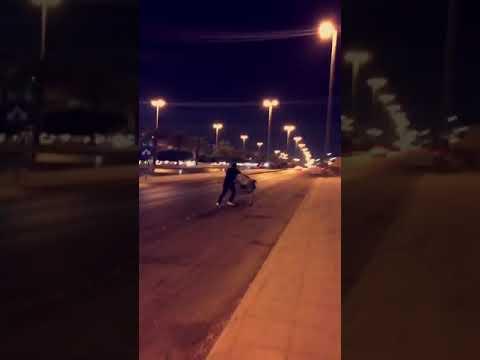 Drifting in the streets of Riyadh