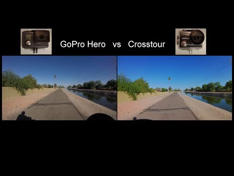 GoPro Hero vs Crosstour action camera