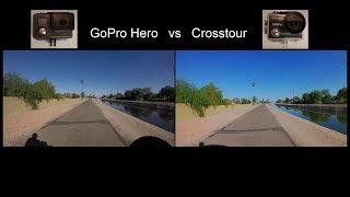 GoPro Hero vs Crosstour action camera