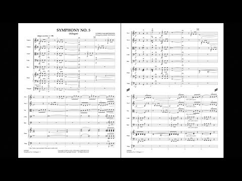 Symphony No. 5 (Allegro) by Ludwig van Beethoven/arr. Jamin Hoffman