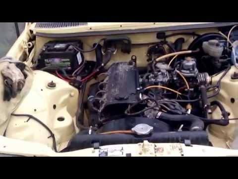 W123 2.0 M102 (двигатель на месте)