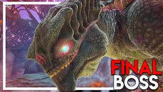 """THE KING TITAN"" FINAL BOSS FIGHT - Attempt #1 (Ark Extinction DLC Gameplay Ep 42)"