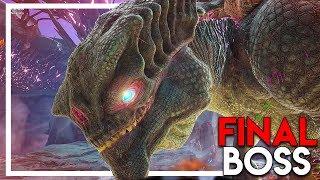 """THE KING TITAN"" FINAL BOSS FIGHT - Attempt #1 (Ark Extinction DLC Gameplay Ep 42)"