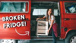 DIY Westfalia Fridge REMOVAL + ARB Zero Fridge Freezer INSTALL