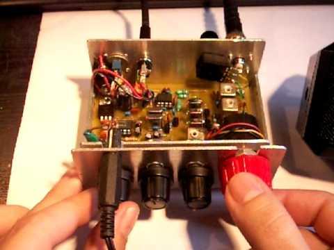 Homemade HAM Radio CW/SSB receiver for 20m