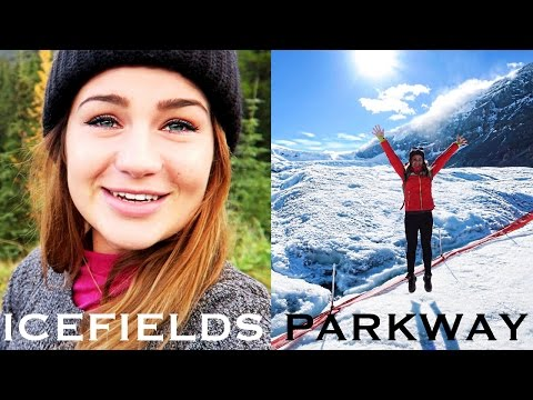ICEFIELDS PARKWAY & INSIDE OF A GLACIER I Canada Rockies Guide I ANNI LALAS