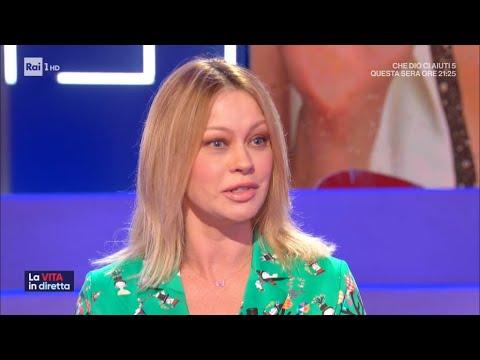 La nuova Anna Falchi - La vita in diretta 18/06/2020