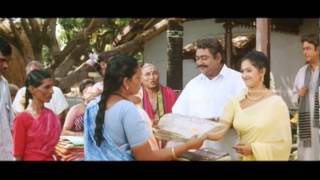 Naagamma - Manthra gifts saree to village people