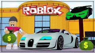 I PROMOTED MY CAR DEALERSHIP ❗️ ️-Roblox