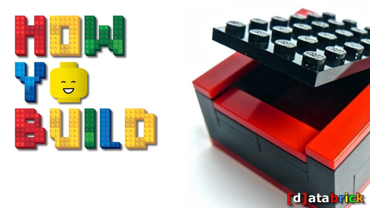 How To Build a XMAS GIFT BOX w LEGO BRICKS less than 1min ...