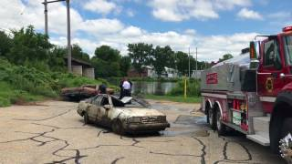 Janesville police pull two cars out of Rock River