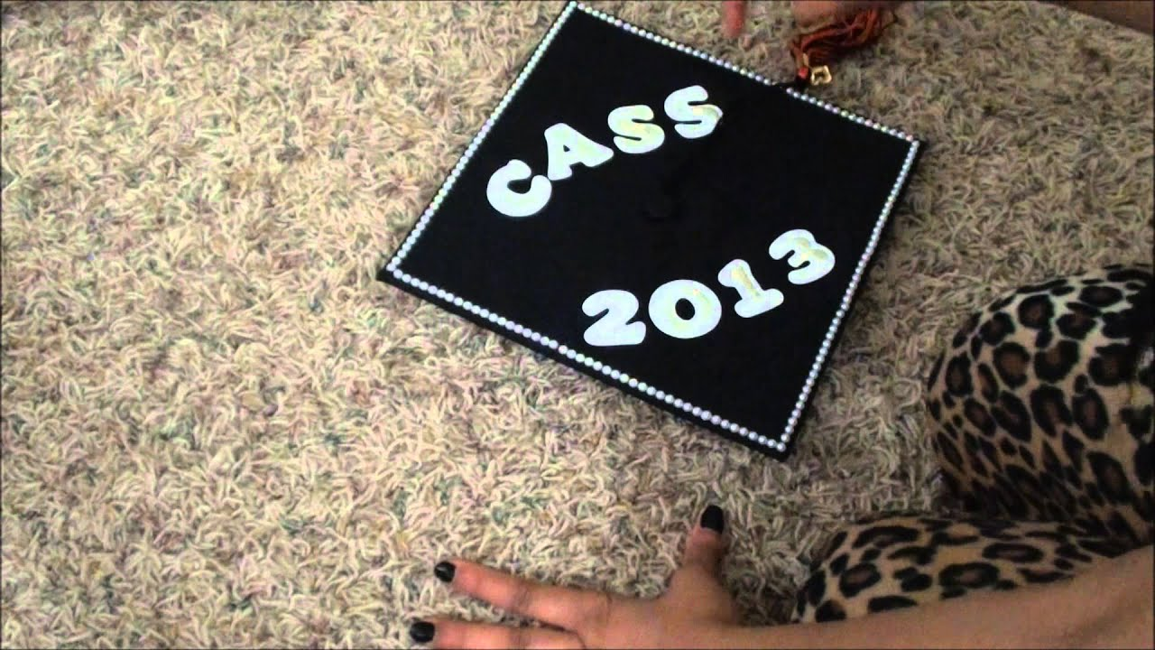 Tutorial Graduation Cap Decorating