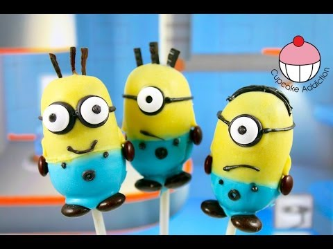Despicable Me 2 Cake pops! - Make Minions Cakepops - A Cupcake Addiction How To Tutorial