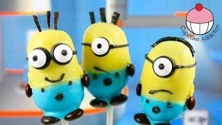 Recipe   Despicable Me 2 Cake pops! Make Minions Cakepops A Cupcake Addiction How To Tutorial
