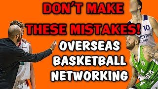 Contacting Overseas Teams | What To Do & Not To Do | Basketball Networking | For Players & Coaches