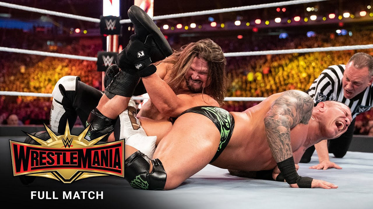 Download FULL MATCH - AJ Styles vs. Randy Orton: WrestleMania 35