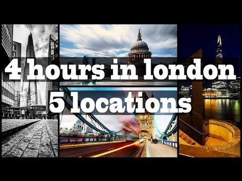 Photography Locations In London | 4 Hours And 5 Compositions | Tower Bridge, Shard, St Pauls