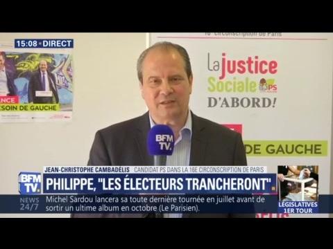 """Affaire Ferrand: """"Il y a un aspect d'enrichissement personnel"""", dénonce Cambadélis"""