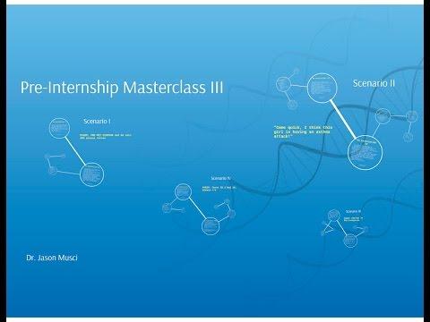 UMMSS Pre-internship Masterclass (3 of 6)